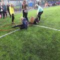 Открытие новой футбольной площадки!